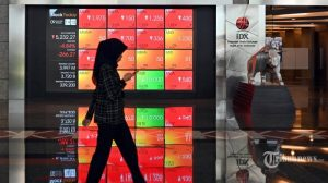 IHSG Menguat 1,15 Persen Sepekan, Kapitalisasi Pasar Capai Rp 5.828 Triliun