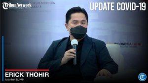 Erick Thohir Sebut Tidak Semua Peserta BPJS Kesehatan Dapat Vaksin Gratis